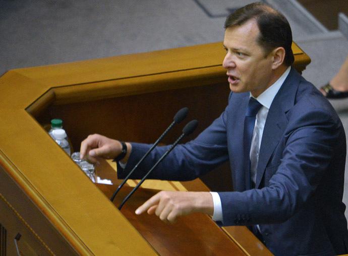 Oleg Lyashko (RIA Novosti/Evgeny Kotenko)