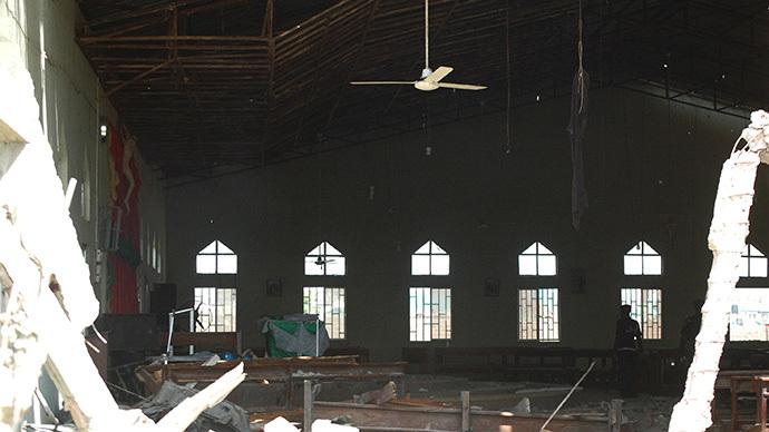 Dozens feared killed as Islamist militants attack several churches in Nigeria