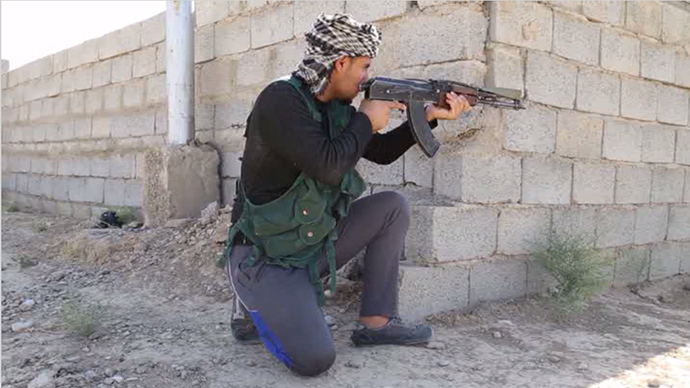 Up to 1,500 armed men are on guard against ISIS as a part of a newly-formed Turkmen militia.