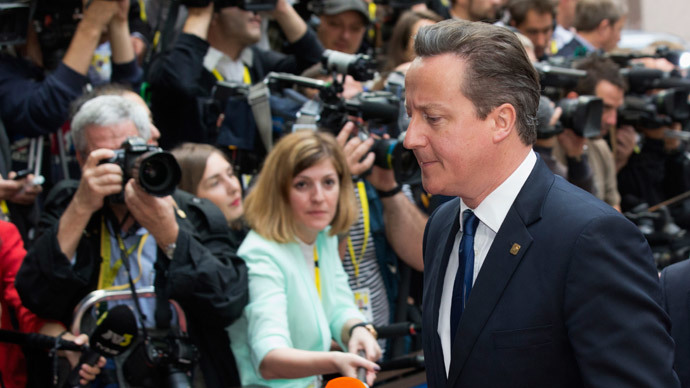 ​'Defeated' Cameron congratulates Juncker on EC win, says it's not a 'fatal blow'