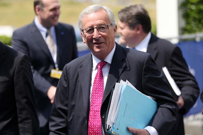 Jean-Claude Juncker.(Reuters / Francois Lenoir)