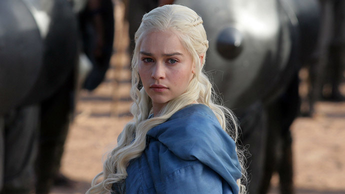 Daenerys Targaryen. Both Daenerys and Khaleesi, which means Queen, have become real names. (Photo: HBO)