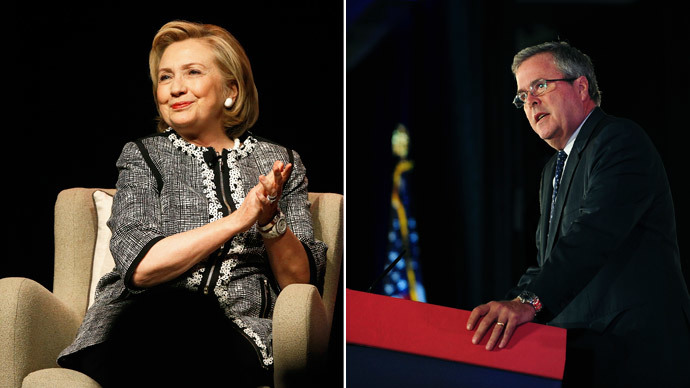 Jeb Bush catching up with Hillary Clinton in presidential polls