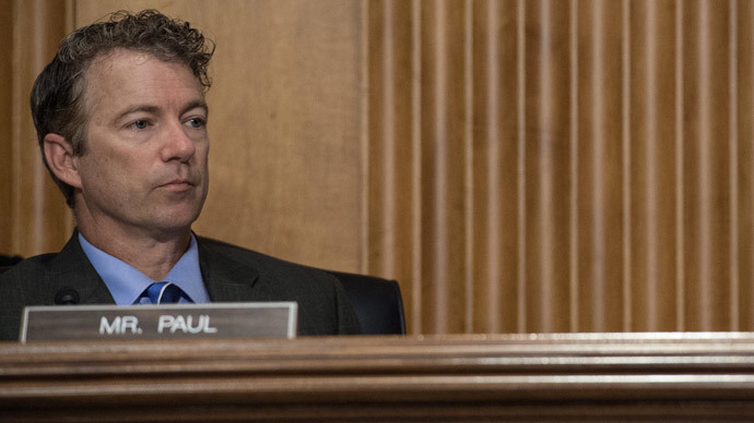 US Republican Senator from Kentucky Rand Paul.(AFP Photo / Nicholas Kamm)