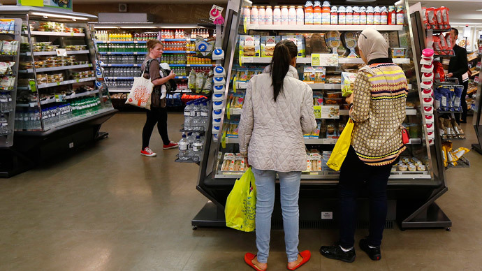 Cost of essentials in UK up 28% from pre-crash levels