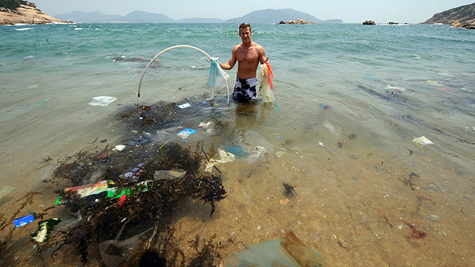 88% of world's oceans covered by plastic junk – study