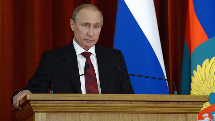 'We will react to NATO build-up!' Key Putin quotes from defense policy address