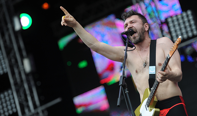 Leningrad band lead singer Sergey Shnurov (RIA Novosti)