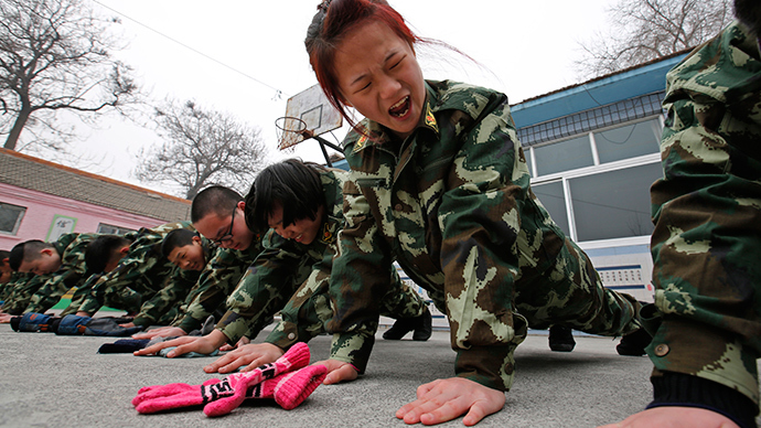 Real-life 'Call of Duty' camps recruit Chinese internet-addicted teens (PHOTOS)