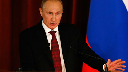 Putin: 'Love is the meaning of life'