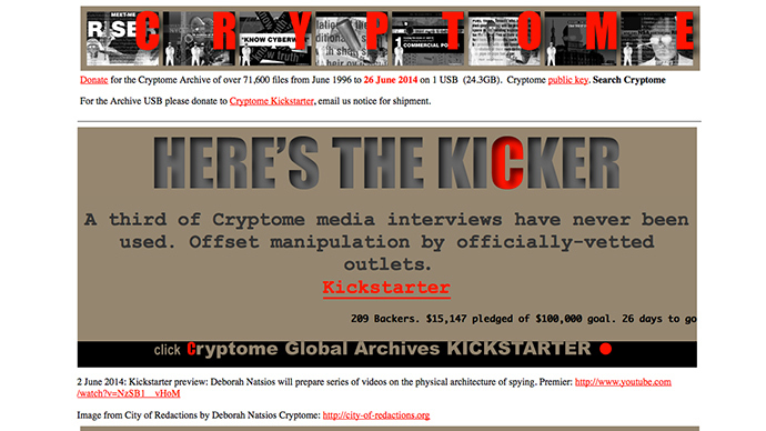Cryptome claims all Snowden files will be published in July to avert a war