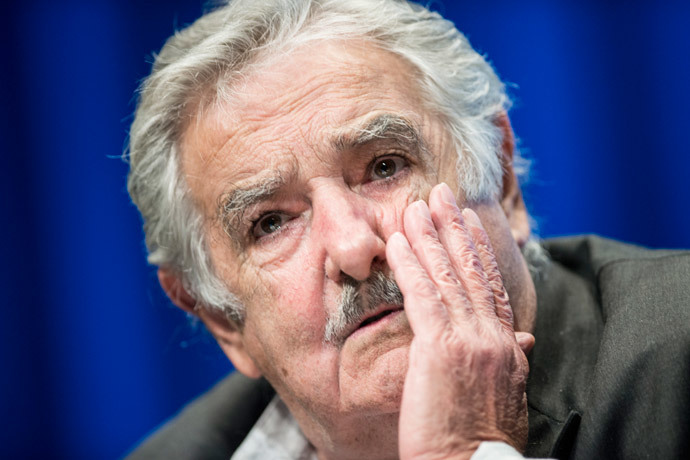 Uruguayan President Jose Mujica.(AFP Photo / Brendan Smialowski )