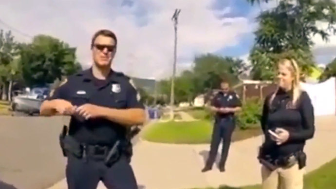 Furious man confronts police after learning they killed his dog (VIDEO)