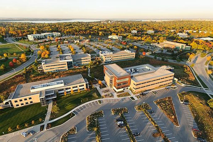 University Research Park, where Kawaoka conducts flu GOF experiments. (Photo by Jeff Miller/UW-Madison / cidrap.umn.edu)