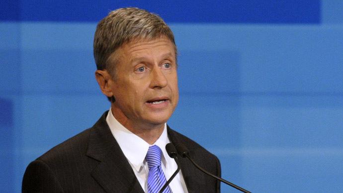 President Gary Johnson: Former Libertarian candidate lands top job with marijuana company