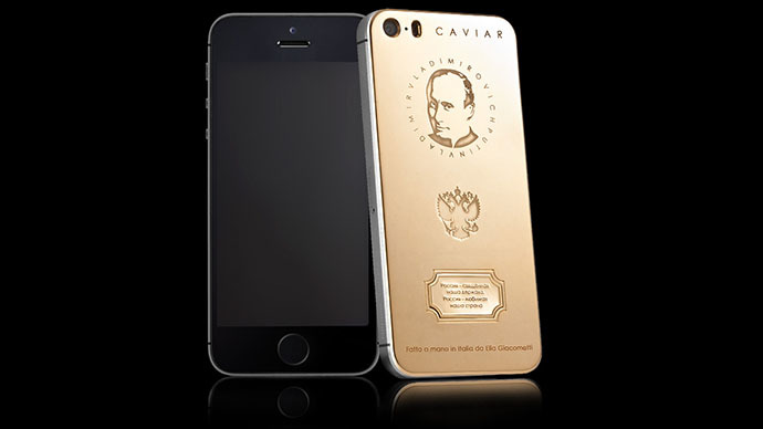 Midas touch: Golden 'Putinphones' (at $4,350 each) sell out in just 1 day