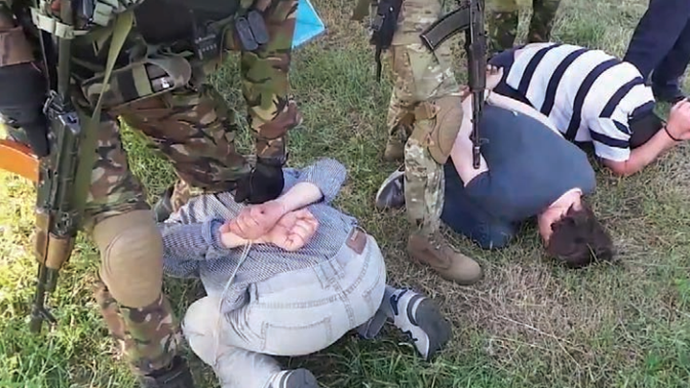 Ukrainian punitive squads treat Russian journalists from Lifenews channel as terrorists (Image from mid.ru)