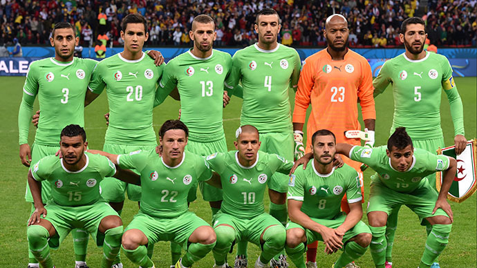 ​Algeria team donating money earned at Brazil World Cup to people of Gaza
