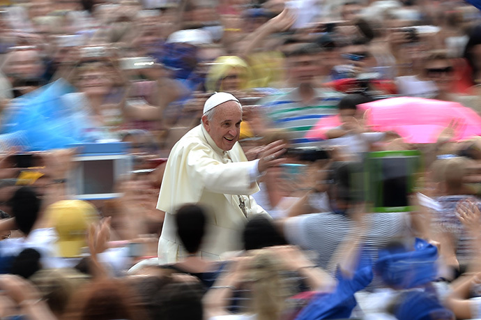 Pope Francis (AFP Photo / Filippo Monteforte)