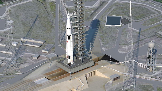 NASA's most powerful rocket ever aims for deep space exploration