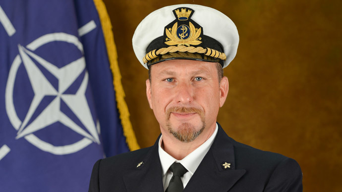 Captain Giovanni Piegaja (Photo from www.mc.nato.int)