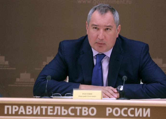 Russia's Deputy Prime Minister Dmitry Rogozin (RIA Novosti/Sergey Mamontov)