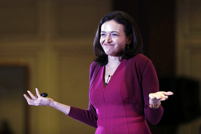 Facebook's Chief Operating Officer (COO) Sheryl Sandberg (Reuters/Adnan Abidi)