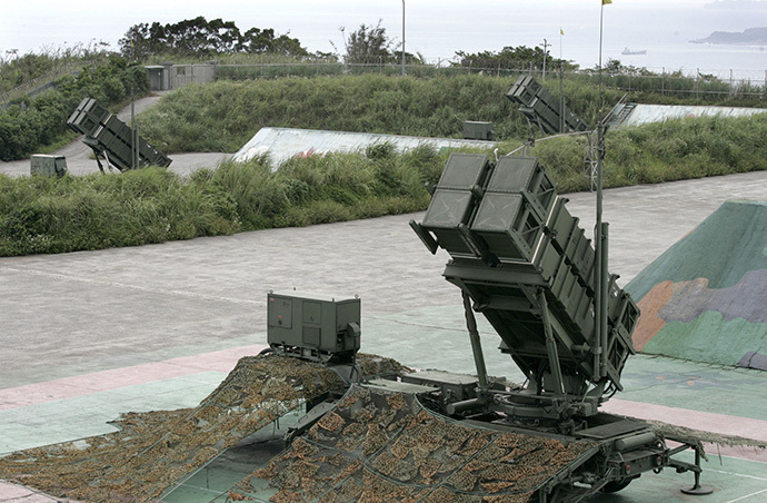 Patriot Advanced Capability-2 anti-missile launchers (Reuters / Richard Chung)