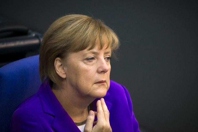 German Chancellor Angela Merkel (Reuters/Thomas Peter)