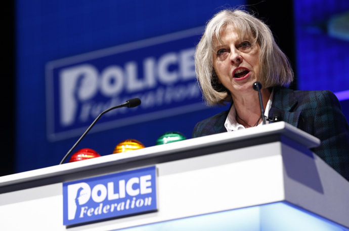 Britain's Home Secretary Theresa May (Reuters/ndrew Winning)