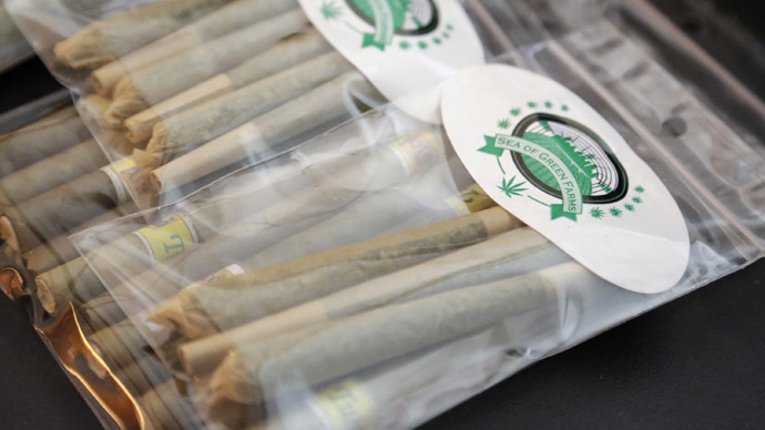 Ready, steady, puff! Washington State starts legal pot sales Tuesday