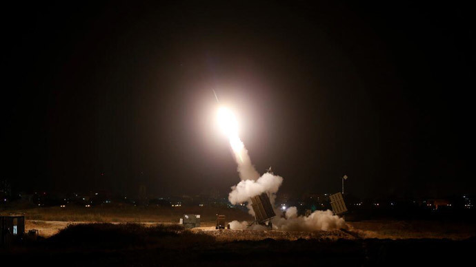 Gaza rocket hits Jerusalem as Palestinian death toll reaches 25
