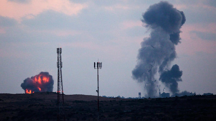 #IsraelDefending or #GazaUnderAttack? 'Protective Edge' from both sides of conflict