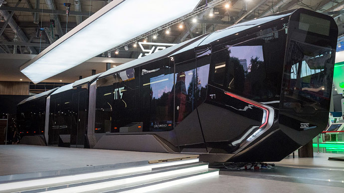 BatTram, anyone? 'Badass' new Russian streetcar revealed (PHOTOS)