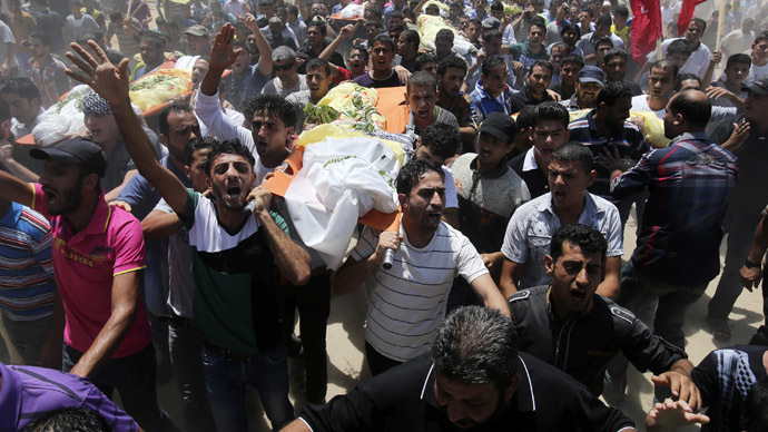 Israel hits 200 Gaza sites, 8 children reported dead, Hamas fires rockets
