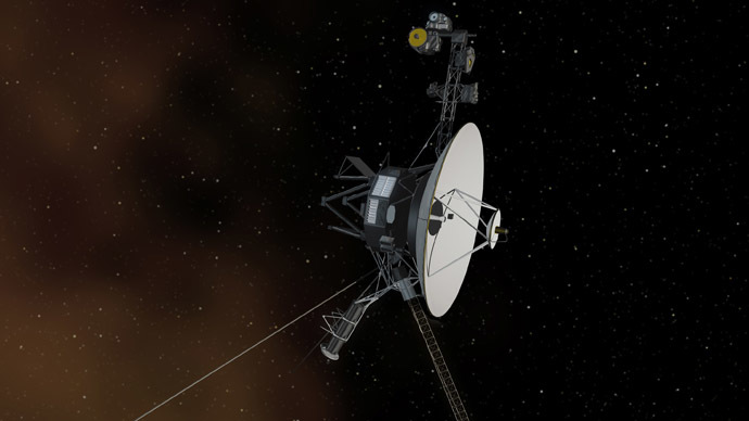 NASA Voyager I struck by solar tsunami, now confirmed in interstellar space