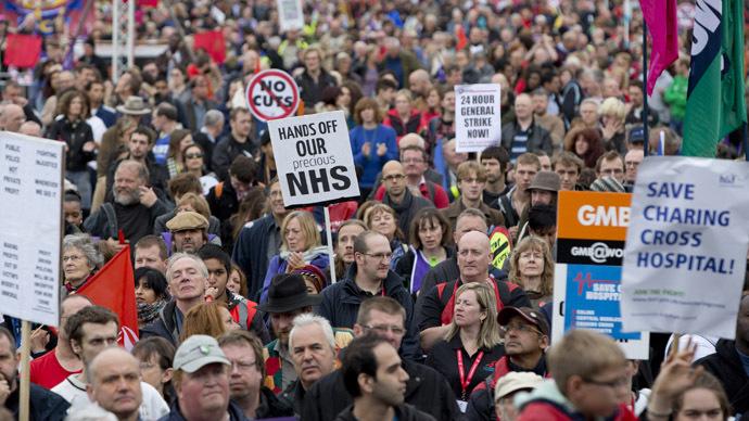 'Poverty pay' #J10 strike begins across UK