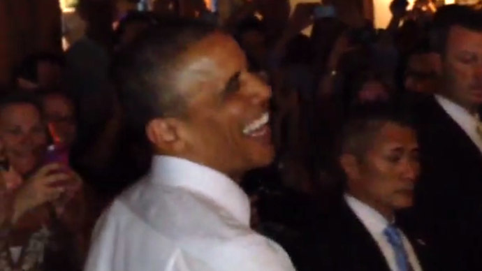 Obama offered pot during Denver visit (VIDEO)