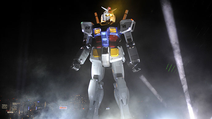 Japanese engineers to build 60-foot Gundam robot
