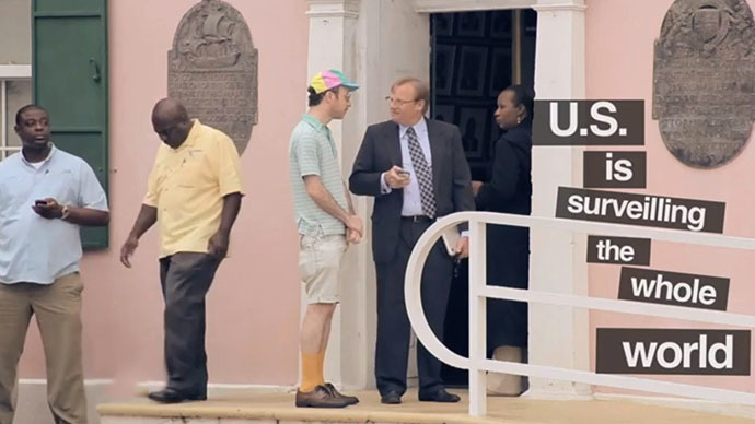 'US spies on whole world, so what?' - Bahamas minister (VIDEO)