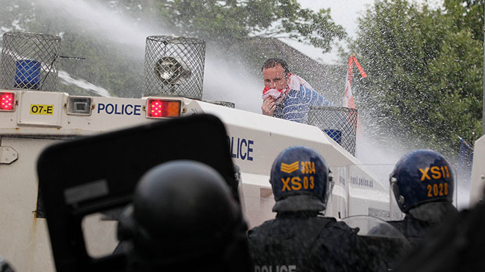 Water cannons arrive in London for potential Met deployment