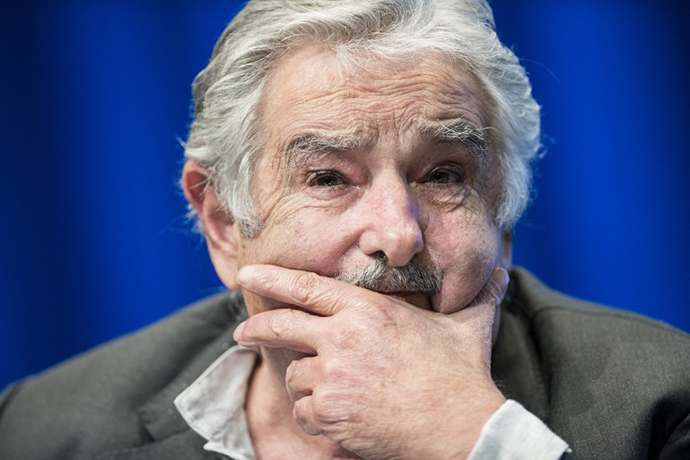 Uruguayan President Jose Mujica (AFP Photo / Brendan Smialowski)