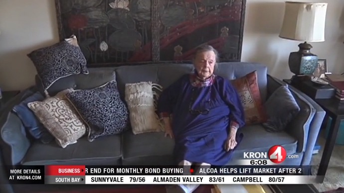 Protesters defend San Francisco woman, 98, from eviction