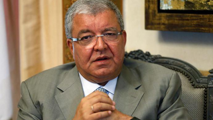 Lebanon's Interior Minister Nohad Machnouk.(Reuters / Mohamed Azakir)