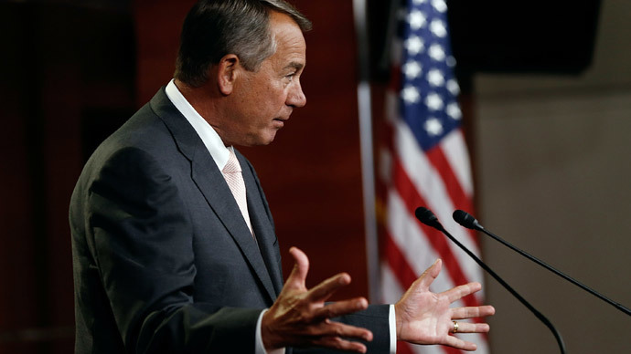 'So sue me': Boehner acts on threat to sue Obama...over delays in Obamacare