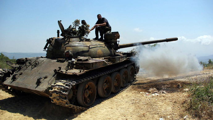 ​1,000-strong Syrian rebel brigade defects to Islamic State - report