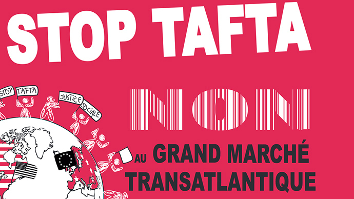 'No to TAFTA': France celebs campaign against EU-US trade deal, sign petition
