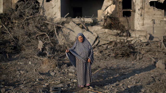 ABC airs Gaza bombing devastation images - says it's in Israel
