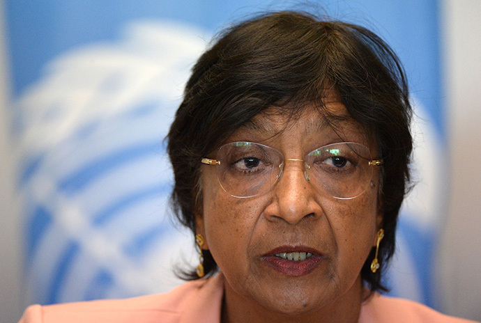 United Nations High Commissioner for Human Rights Navi Pillay (AFP Photo / Fadel Senna)
