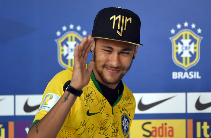 Brazil's forward Neymar (AFP Photo/Vanderlei Almeida)
